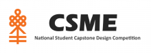 CSME National Student Design Competition logo